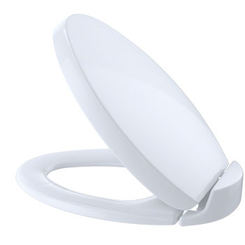 Toto S204-01 Oval Soft Close Toilet Seat - White