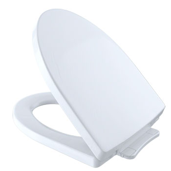 Toto SS214-01 Soiree SoftClose Elongated Toilet Seat - Cotton White