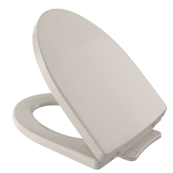 Toto SS214-03 Soiree SoftClose Elongated Toilet Seat - Bone (Pictured in Cotton White)