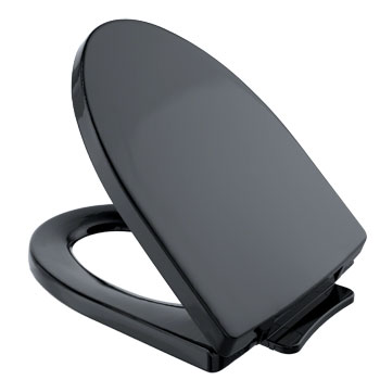 Toto SS214-51 Soiree SoftClose Elongated Toilet Seat - Ebony (Pictured in Cotton White)