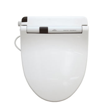 Toto SW553-01 Washlet S300 Round Toilet Seat - Cotton White