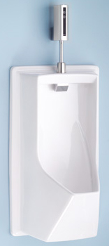 Toto UE930-03 Lloyd Urinal With Electronic Flush Valve - Bone (Pictured in Cotton White)