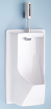 Toto UE930-51C Lloyd Urinal With Electronic Flush Valve - Ebony (Pictured in Cotton White)