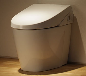 Toto MS980CMG-01 Neorest 550 Dual Flush One-Piece Toilet - Cotton White (Pictured in Sedona Beige)