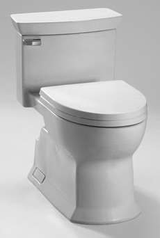 Toto MS964214CEFG-11 Eco Soiree One-Piece Elongated Toilet - Colonial White