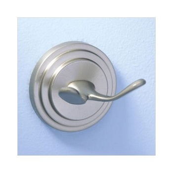 Gatco 5848 Marina Twin Robe Hook Satin Nickel