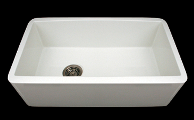Whitehaus Wh3018 Farmhaus 30 Duet Reversible Undermount Fireclay Sink With Smooth Front Apron White Faucetdepot Com