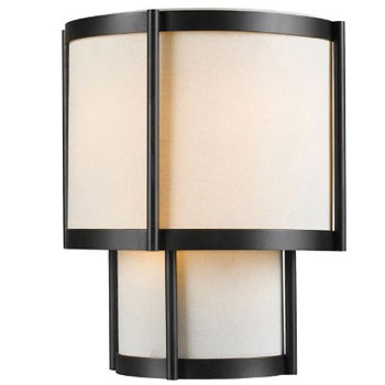 World Imports WI-1431-29 Edmonton 3 Light Wall Sconce - Euro Bronze