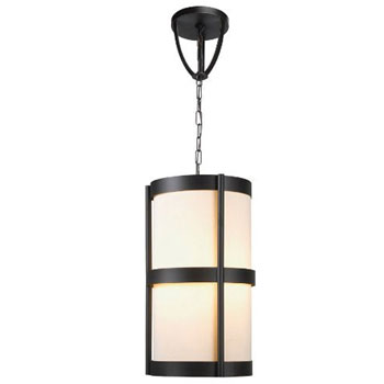 World Imports WI-1433-29 Edmonton 4 Light Pendant With Shade - Euro Bronze