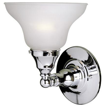 World Imports 2601-08 Asten 1-Light Wall Sconce - Chrome