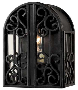 World Imports 5250-42  Sevilla 1 Light Indoor/Outdoor ADA Wall Sconce - Rust