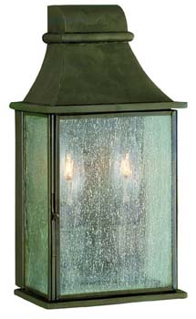 World Imports WI-61314-06 Revere 2 Light Exterior Wall Lantern - Flemish