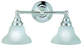 World Imports WI-70272-08 Bath 2 Light Bath Bar - Chrome