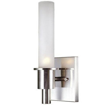World Imports WI-7821-02 Sconce 1 Light Wall Sconce - Satin Nickel
