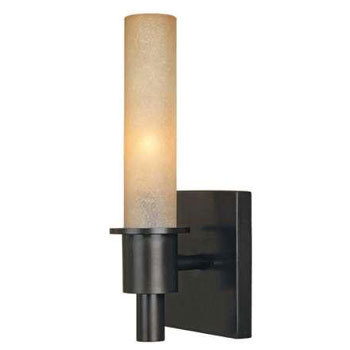 World Imports WI-7821-88 Luray 1-Light Wall Sconce - Oil Rubbed Bronze