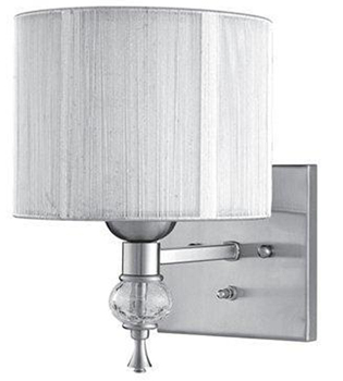 World Imports 8261-37 Beyond Modern 1 Light Wall Sconce - Brushed Nickel