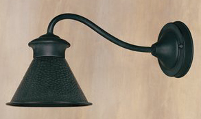 World Imports WI-9002-42 Dark Sky Essen 1-Light 6-Inch Wall Lantern With Long Arm - Rust