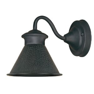 World Imports WI-9002S-42 Dark Sky Essen 1-Light Wall Sconce 6-Inch Width 6-3/4-Inch Height 9-Inch Extension - Rust