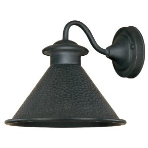 World Imports WI-9003S-42 Dark Sky Essen 1-Light Wall Sconce 9-1/4-Inch Width 8-1/4-Inch Height 10-1/2-Inch Extension - Rust