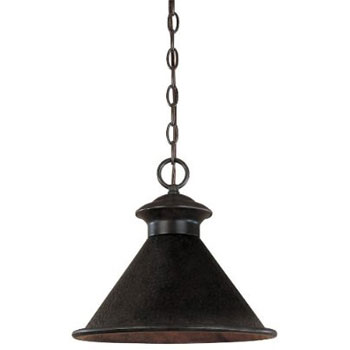 World Imports WI-9008-89 Essen 1-Light Outdoor Hanging Fixture - Bronze