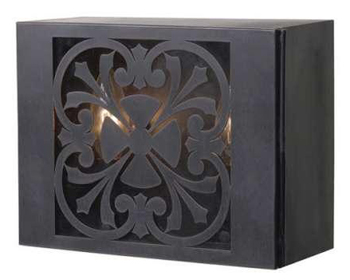 World Imports 9028-89 Sevilla 2 Light Outdoor Wall Sconce - Bronze