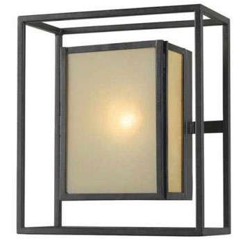 World Imports 9066-55  Hilden 1 Light Indoor Or Outdoor Wall Pocket - Aged Bronze