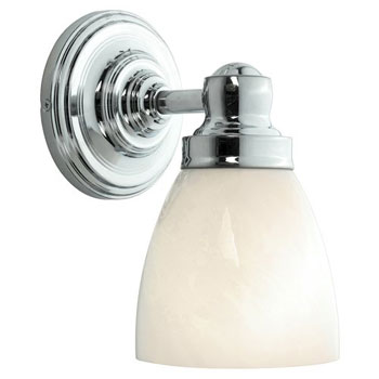 World Imports WI-8025-08 Bath 1 Light Bath Bar - Chrome