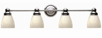 World Imports WI-8029-08 Bath 4 Light Bath Bar - Chrome