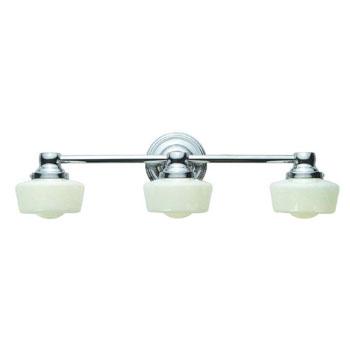 World Imports WI-8023-08 Bath 3 Light Bath Bar - Chrome