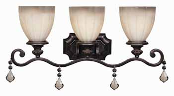 World Imports WI-1683-89 Avila Traditional Bathroom Light - Bronze