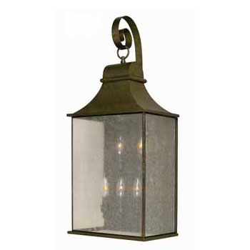 World Imports WI-61306-06 Dark Sky Revere Traditional Outdoor Wall Sconce - Flemish