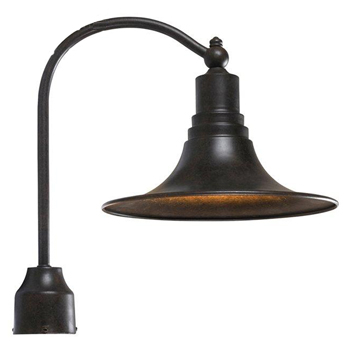 World Imports WI-9000-89 Dark Sky Kingston Transitional Outdoor Post Lantern - Bronze