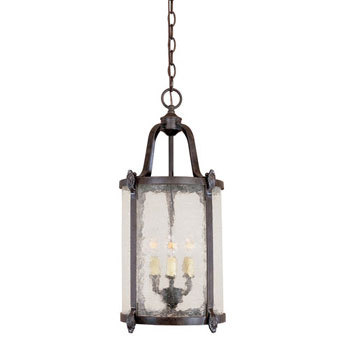 World Imports WI-1663-89 Northhampton Outdoor Collection Traditional / Classic Outdoor Chandeliers - Bronze