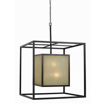 World Imports WI-4114-55 Hilden Collection Contemporary / Modern Twelve Light Chandelier - Aged Bronze