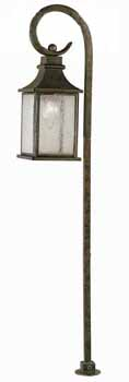 World Imports WI-L61308-06 Dark Sky Revere Traditional Outdoor Post Lantern - Flemish