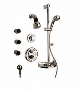 La Toscana SHOWER7BN Water Harmony Shower System - Brushed Nickel