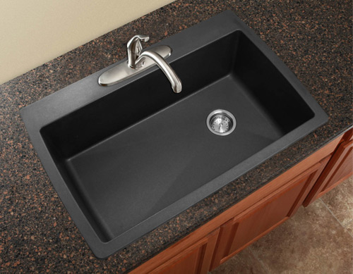 How To Clean A Blanco Composite Granite Sink : Composite Sink Buying Guide : Blanco Undermount Silgranit Composite ...