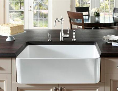 Farmhouse Sinks for the Kitchen : Famhouse Apron Sinks by Herbeau ...