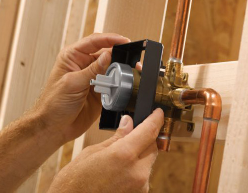 Building Your Luxury Shower Thermostatic Shower Valves Body