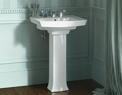 Pedestal Sinks: Buying And Installing a Bathroom Pedestal Sink