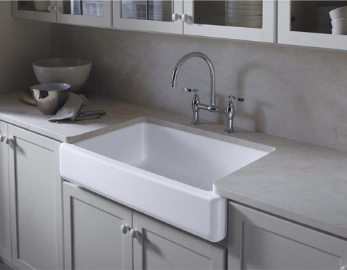 Blanco Farmhouse Kitchen Sinks Kohler K 6488 0 Whitehaven A Sink