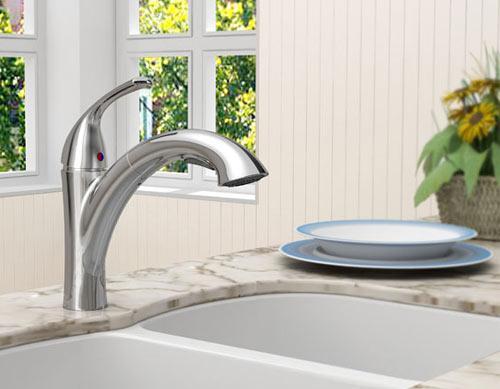 how to choose a kitchen faucet at faucet depot com Pull Out Kitchen Faucet Glacier Kohler Kitchen Faucets