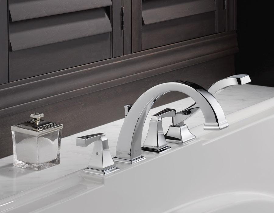 Delta Dryden Roman Tub Faucetry