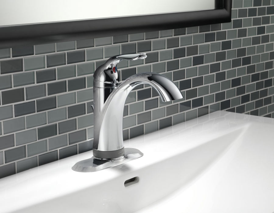 Delta lahara bath collection - Delta bathroom sink faucet installation ...