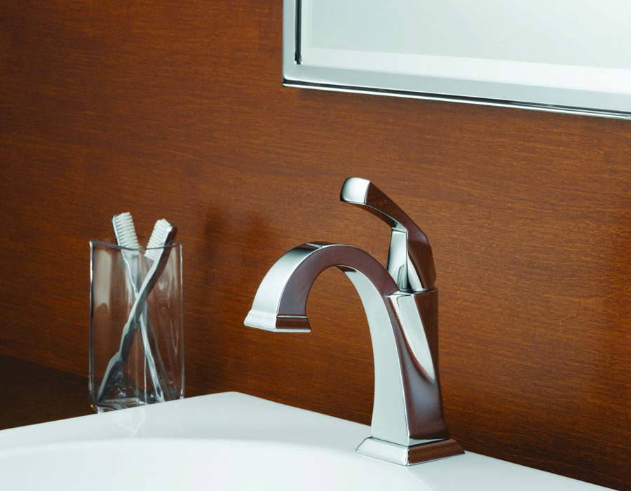 Superbe Delta Single Handle Bathroom Faucets