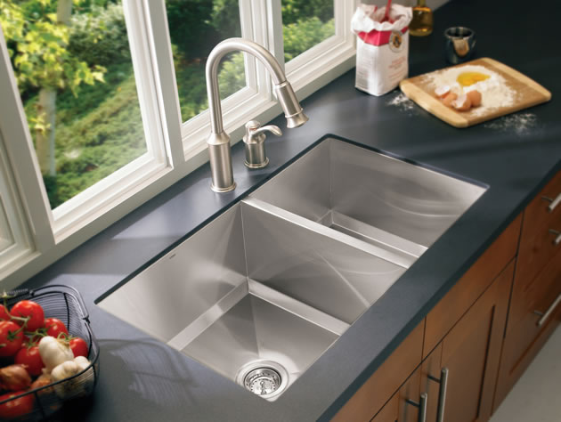Moen Undermount Kitchen Sinks - How To Choose A Kitchen Sink: Stainless Steel, Undermount, Drop In