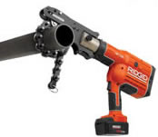 Ridgid tools and drain cleaners at faucet depot for Soil knife home depot