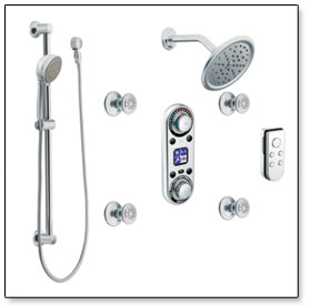 Moen ioDigital Vertical Spa
