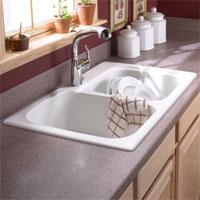 Swan Drop-In Swan Kitchen Sinks