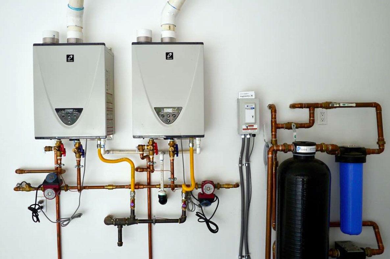 Dual Takagi Tankless Water Heater Installation